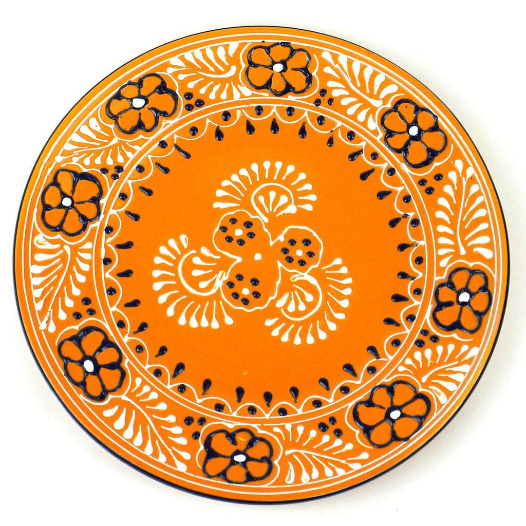 Round Plate - Mango - encantada CoolHatcher at TheArtOfLiving.Earth