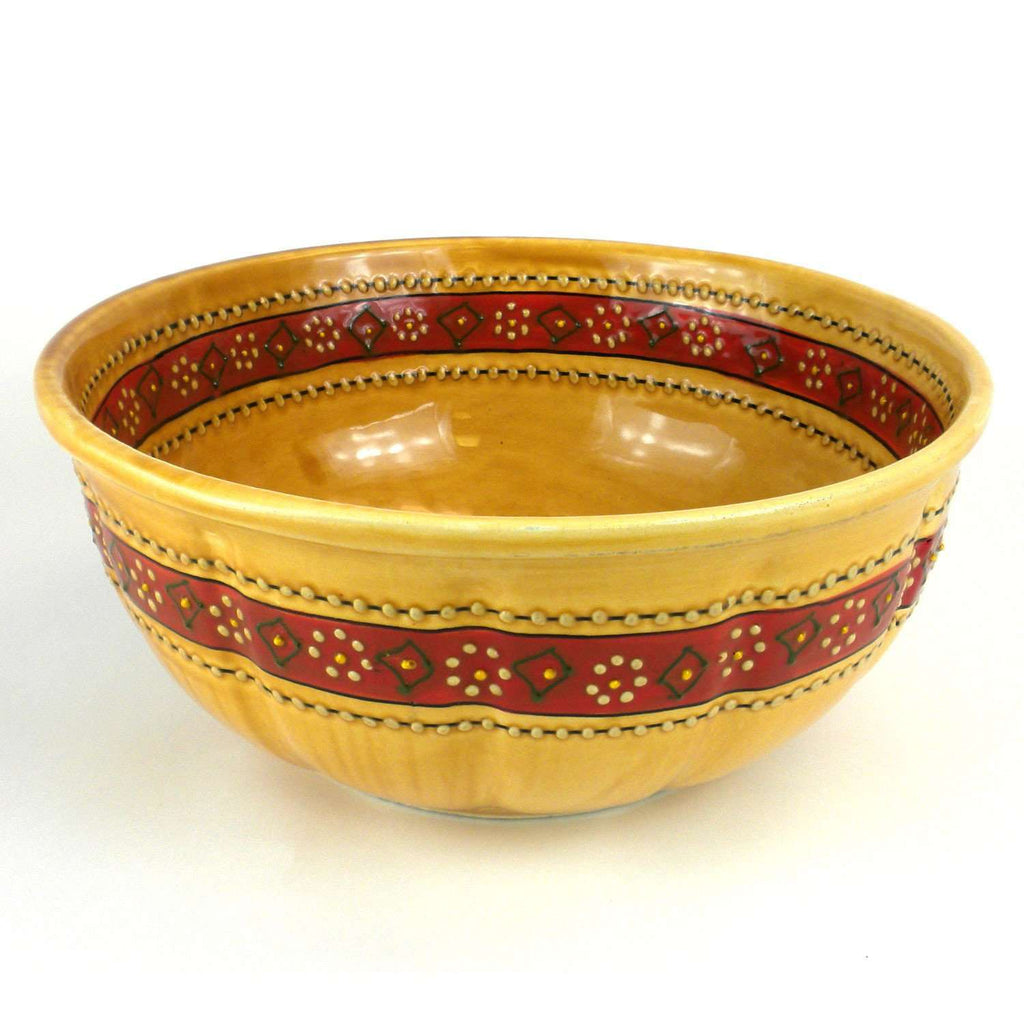 Large Bowl - Honey CoolHatcher at TheArtOfLiving.Earth