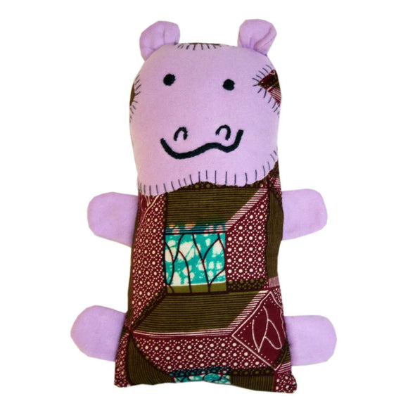 Little Friends Hippo Plush - Dsenyo CoolHatcher at TheArtOfLiving.Earth