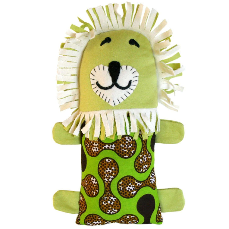 Little Friends Lion Plush - Dsenyo CoolHatcher at TheArtOfLiving.Earth