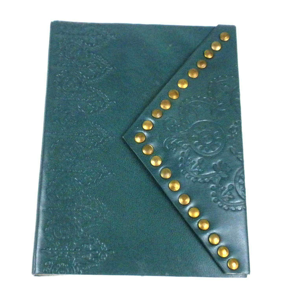 Nailhead Journal - Cyan - Matr Boomie CoolHatcher at TheArtOfLiving.Earth