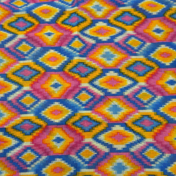Multicolored Kilim Cotton Scarf - Asha Handicrafts CoolHatcher at TheArtOfLiving.Earth
