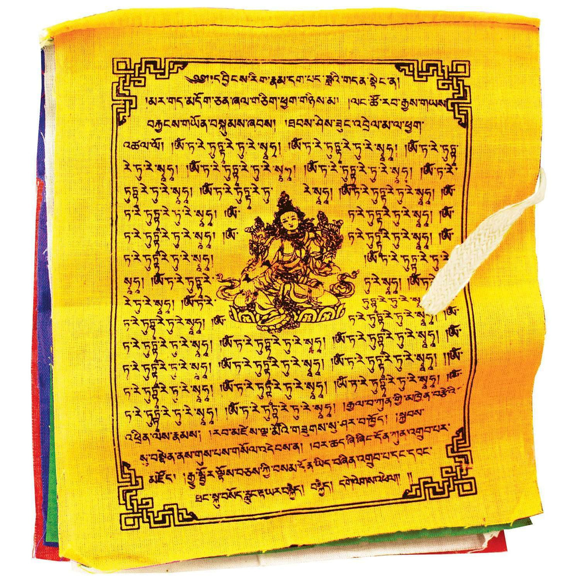 Prayer Flag TNP Tara, Small - Tibet Collection CoolHatcher at TheArtOfLiving.Earth