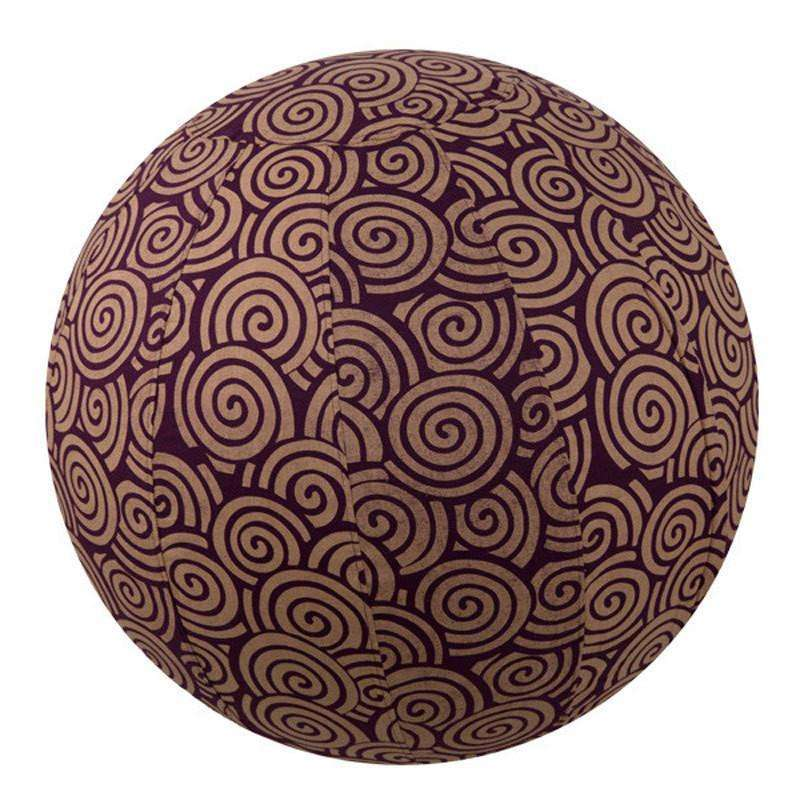 Yoga Ball Cover Size 65cm Design Plum Swirl CoolHatcher at TheArtOfLiving.Earth