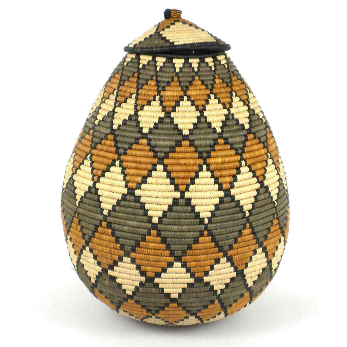 Large Zulu Wedding Basket - One of a Kind - Ilala Weavers CoolHatcher at TheArtOfLiving.Earth