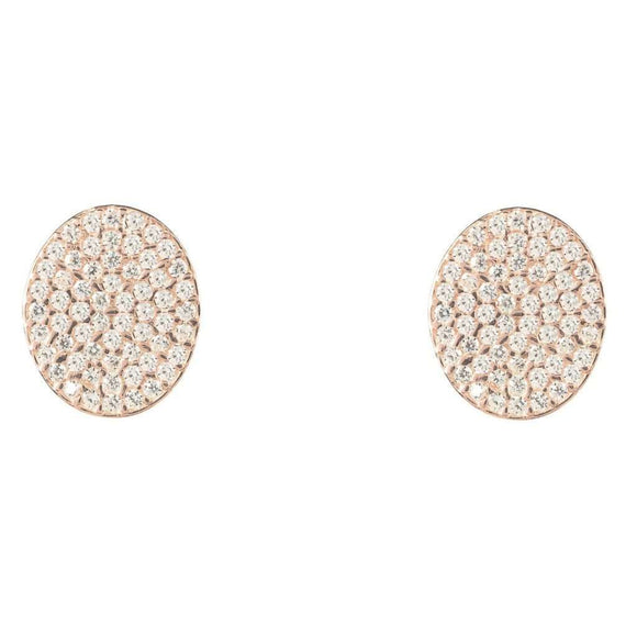 Oval disc Earring CoolHatcher at TheArtOfLiving.Earth