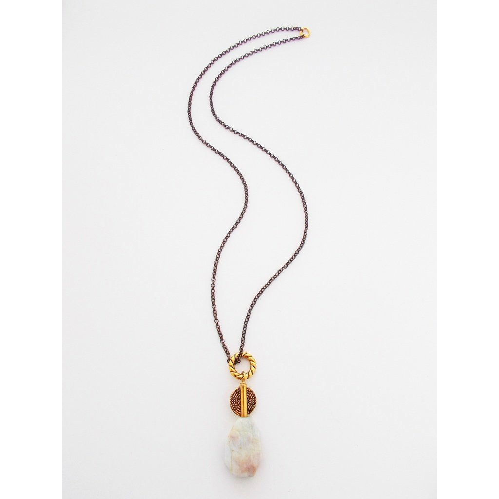 8689JN - Rainfall Necklace CoolHatcher at TheArtOfLiving.Earth