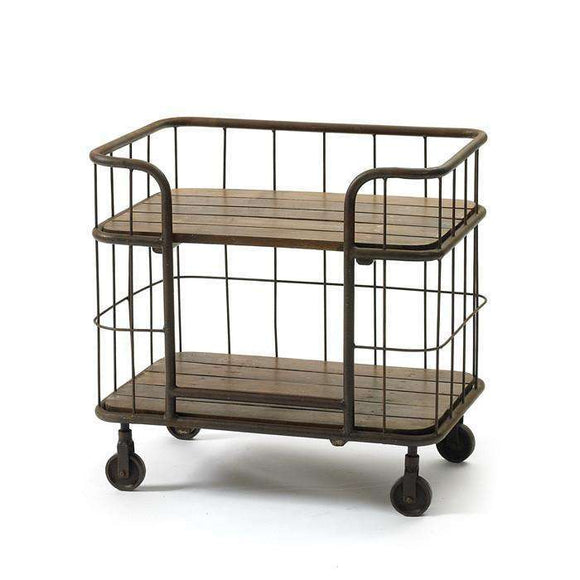 The Farmhouse Hospitality Cart CoolHatcher at TheArtOfLiving.Earth
