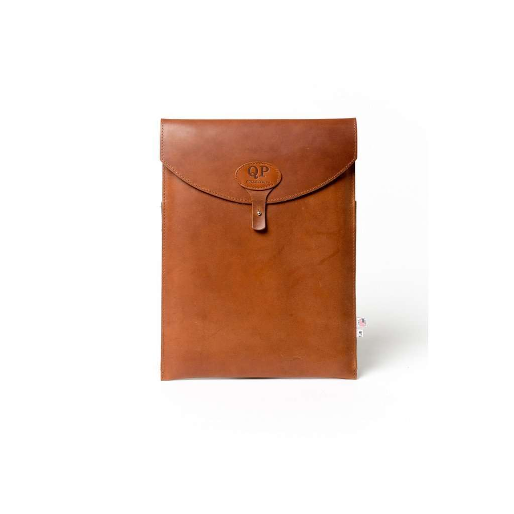 "13"" Leather Laptop Case CoolHatcher at TheArtOfLiving.Earth"