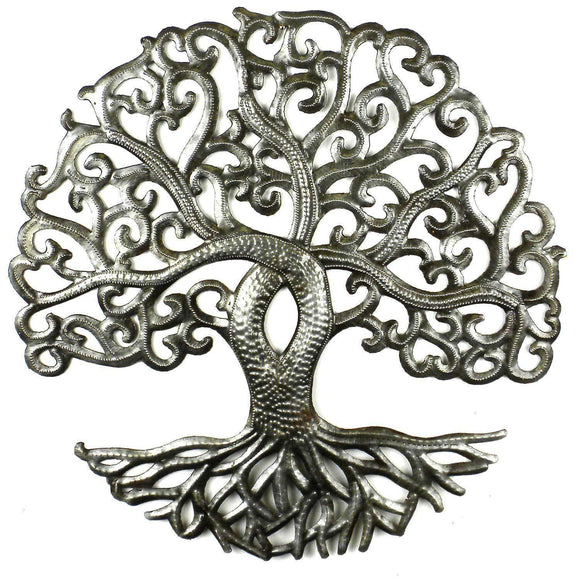 14 inch Tree of Life Curly - Croix des Bouquets CoolHatcher at TheArtOfLiving.Earth