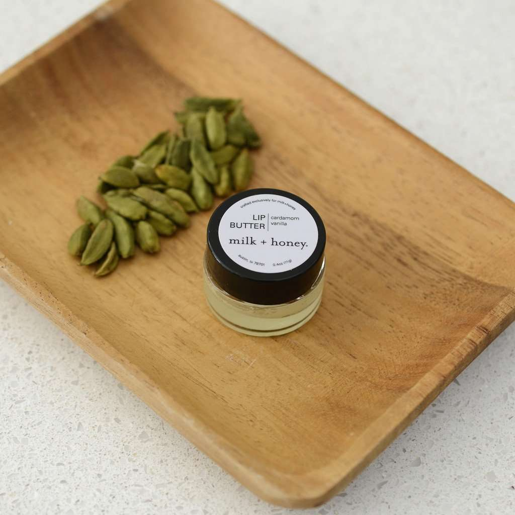 Vanilla & Cardamom Lip Butter, Nº 40 CoolHatcher at TheArtOfLiving.Earth