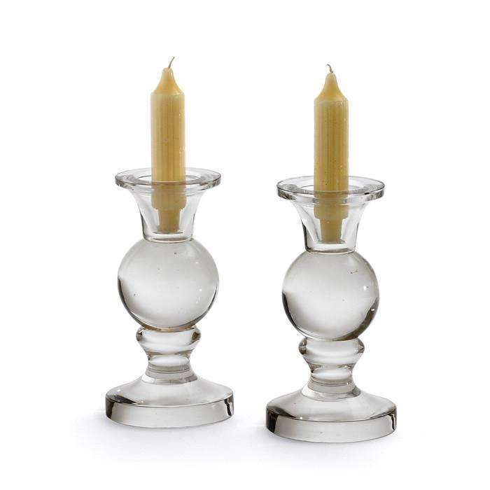 Pair Of Spherical Candleholders CoolHatcher at TheArtOfLiving.Earth