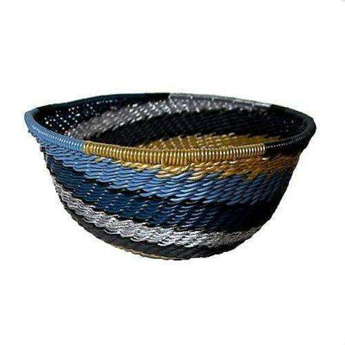 Handcrafted Recycled Telephone Wire Bowl - Galaxy - South Africa CoolHatcher at TheArtOfLiving.Earth