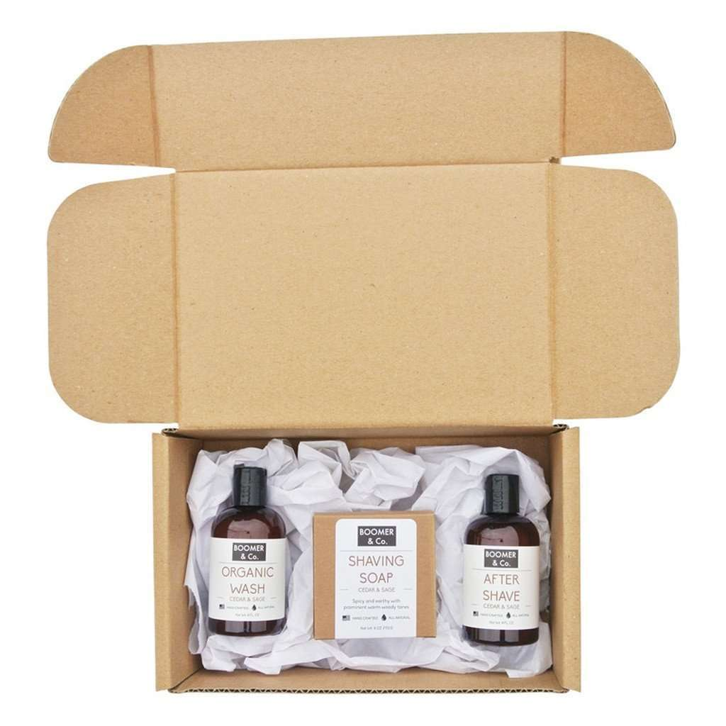 Cedar & Sage Men's Grooming Kit CoolHatcher at TheArtOfLiving.Earth