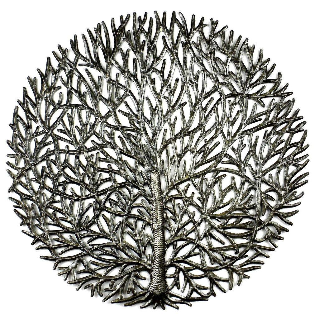 20 inch Fine Tree of Life - Croix des Bouquets CoolHatcher at TheArtOfLiving.Earth
