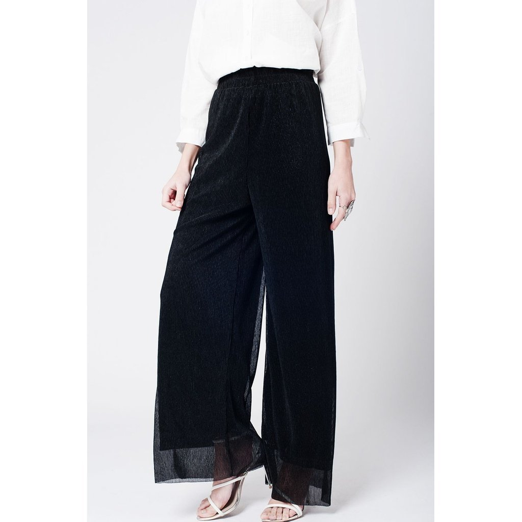Black cheesecloth pants CoolHatcher at TheArtOfLiving.Earth