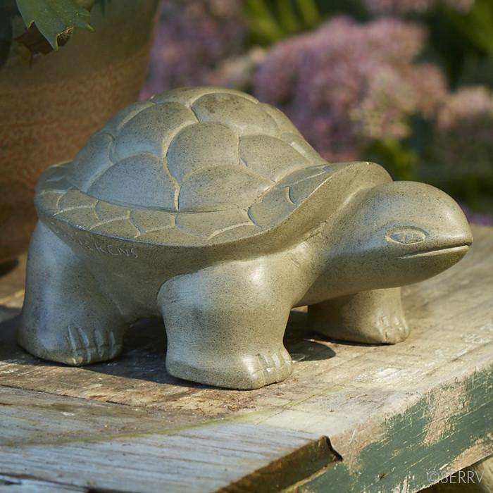 Garden Turtle Sculpture CoolHatcher at TheArtOfLiving.Earth