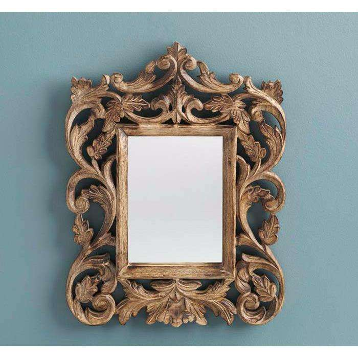 Ornate Accent Mirror CoolHatcher at TheArtOfLiving.Earth