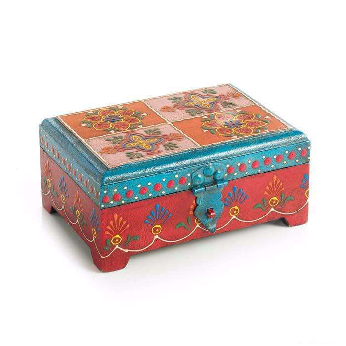 Floral Keepsake Box CoolHatcher at TheArtOfLiving.Earth