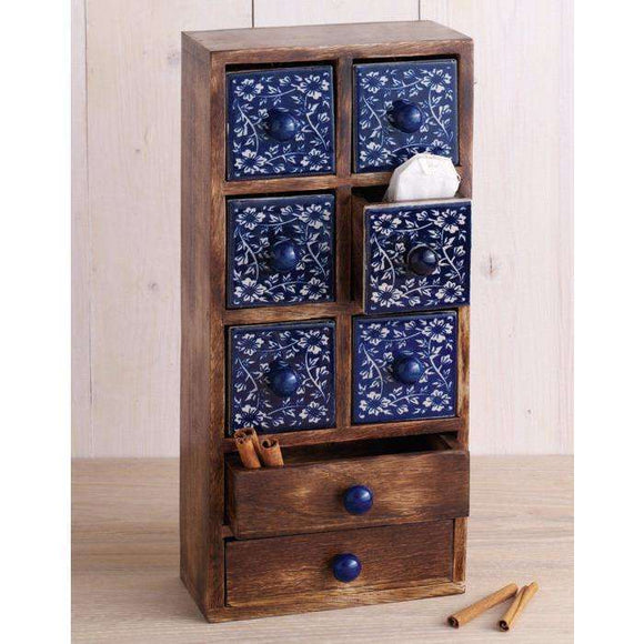 Indigo Spice Chest CoolHatcher at TheArtOfLiving.Earth
