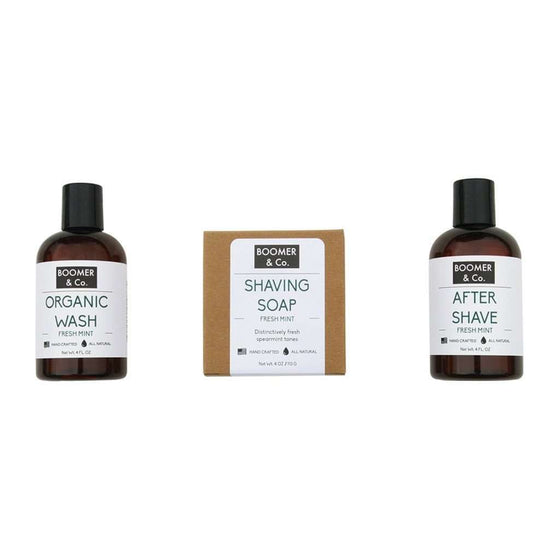 Fresh Mint Men's Grooming Kit CoolHatcher at TheArtOfLiving.Earth