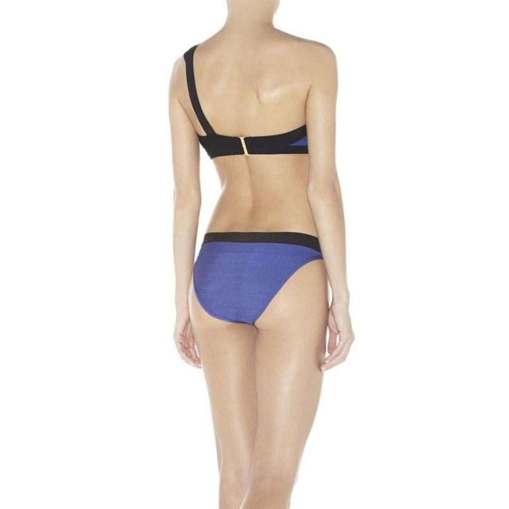 Rio One Shoulder Bandage Bikini Swimsuit CoolHatcher at TheArtOfLiving.Earth
