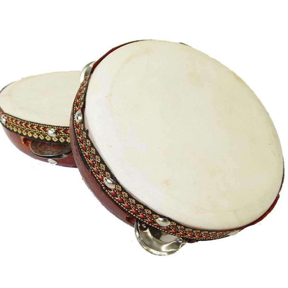 6-inch Frame Tambourine Drum - Jamtown World Instruments CoolHatcher at TheArtOfLiving.Earth