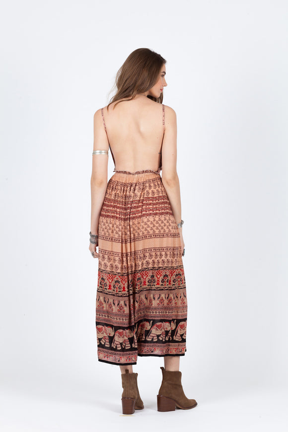MOJAVE MAXI DRESS CoolHatcher at TheArtOfLiving.Earth