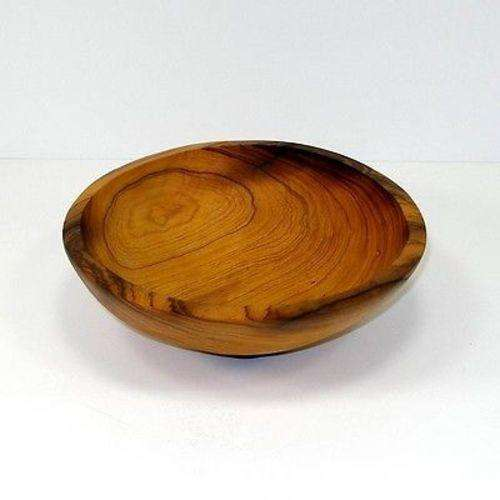 7.5-Inch Hand-carved Olive Wood Bowl - Jedando Handicrafts CoolHatcher at TheArtOfLiving.Earth