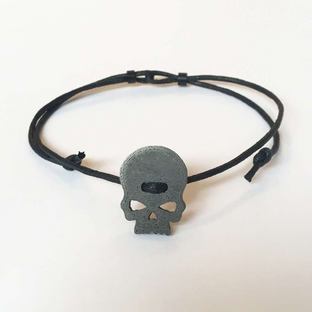 Skull Bracelet CoolHatcher at TheArtOfLiving.Earth