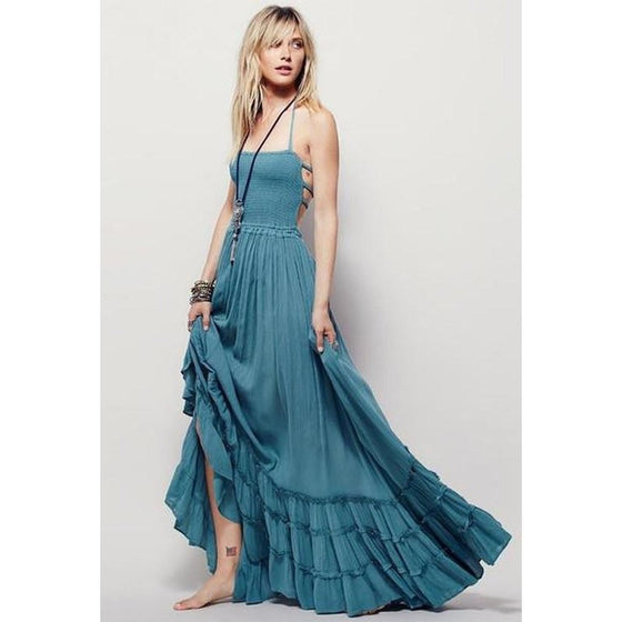 'Road Trippin' Maxi Dress CoolHatcher at TheArtOfLiving.Earth
