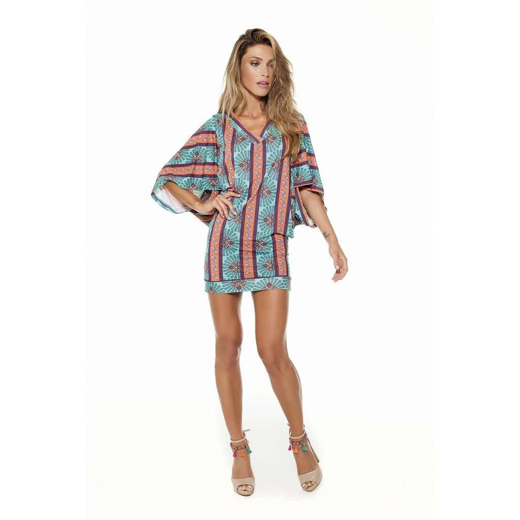 Kaftan Kizzy Gypsy CoolHatcher at TheArtOfLiving.Earth