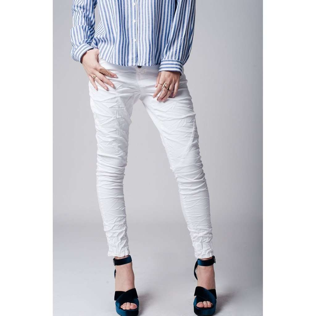 White super skinny jeans In cotton CoolHatcher at TheArtOfLiving.Earth