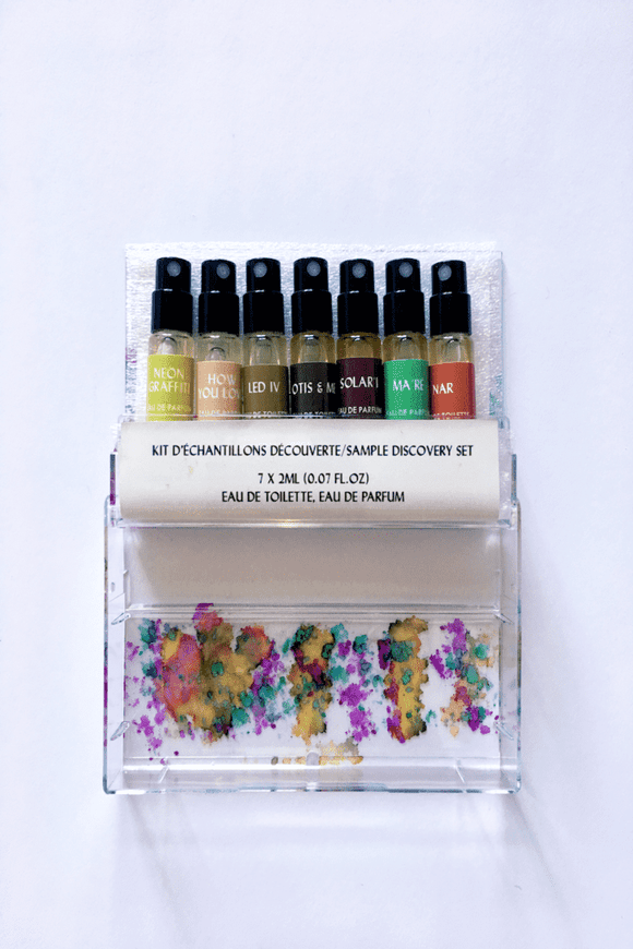 Mixtape Sample Perfume Set CoolHatcher at TheArtOfLiving.Earth