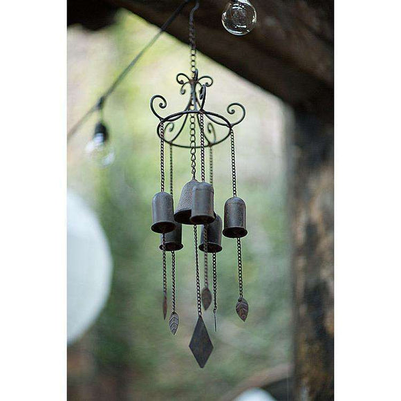 Large Cast Iron Zen Wind Chime