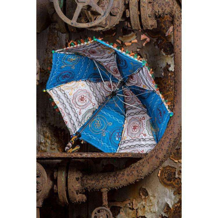 Vintage Solar Umbrellas CoolHatcher at TheArtOfLiving.Earth
