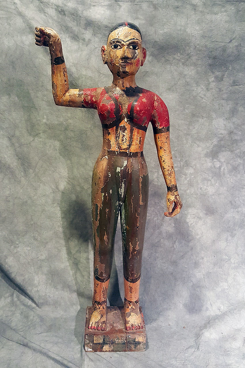 Antique Hand Carved Aspara Statue II CoolHatcher at TheArtOfLiving.Earth