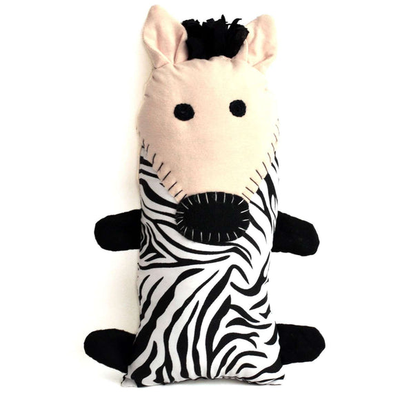 Little Friends Zebra Plush - Dsenyo CoolHatcher at TheArtOfLiving.Earth