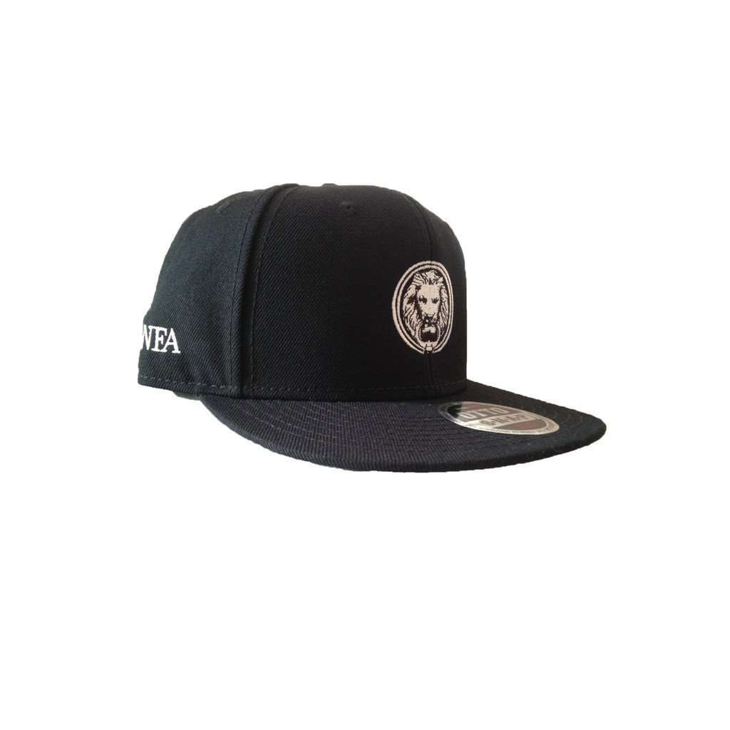 Black NFA Premium Snapback Cap CoolHatcher at TheArtOfLiving.Earth