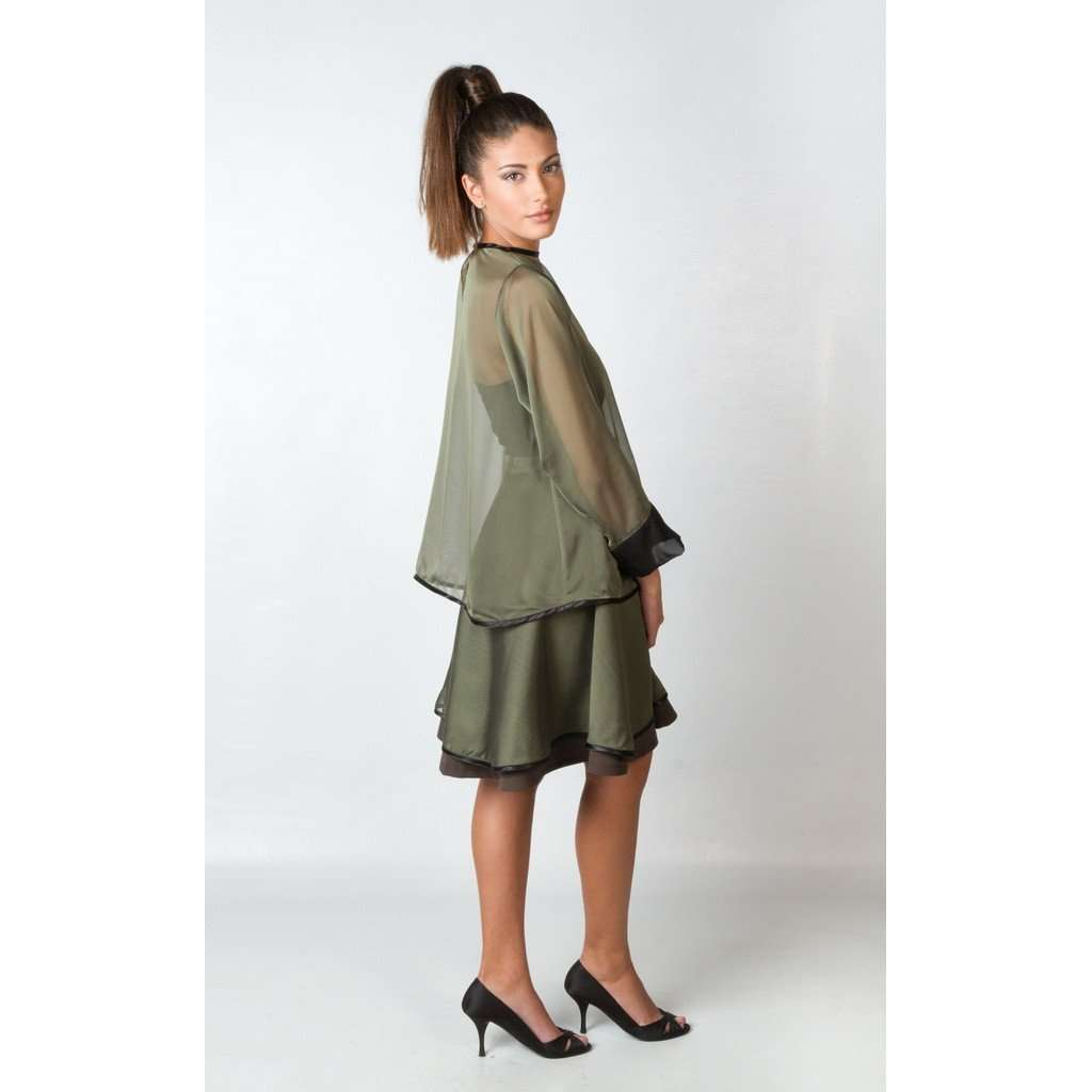 ABEDUL GREEN SKIRT CoolHatcher at TheArtOfLiving.Earth