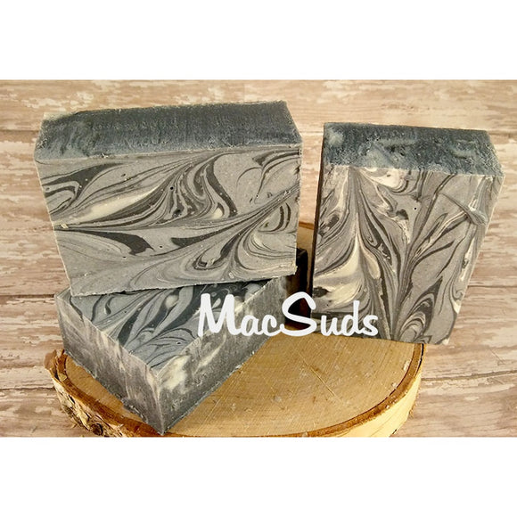 Detox Activated Charcoal Soap CoolHatcher at TheArtOfLiving.Earth