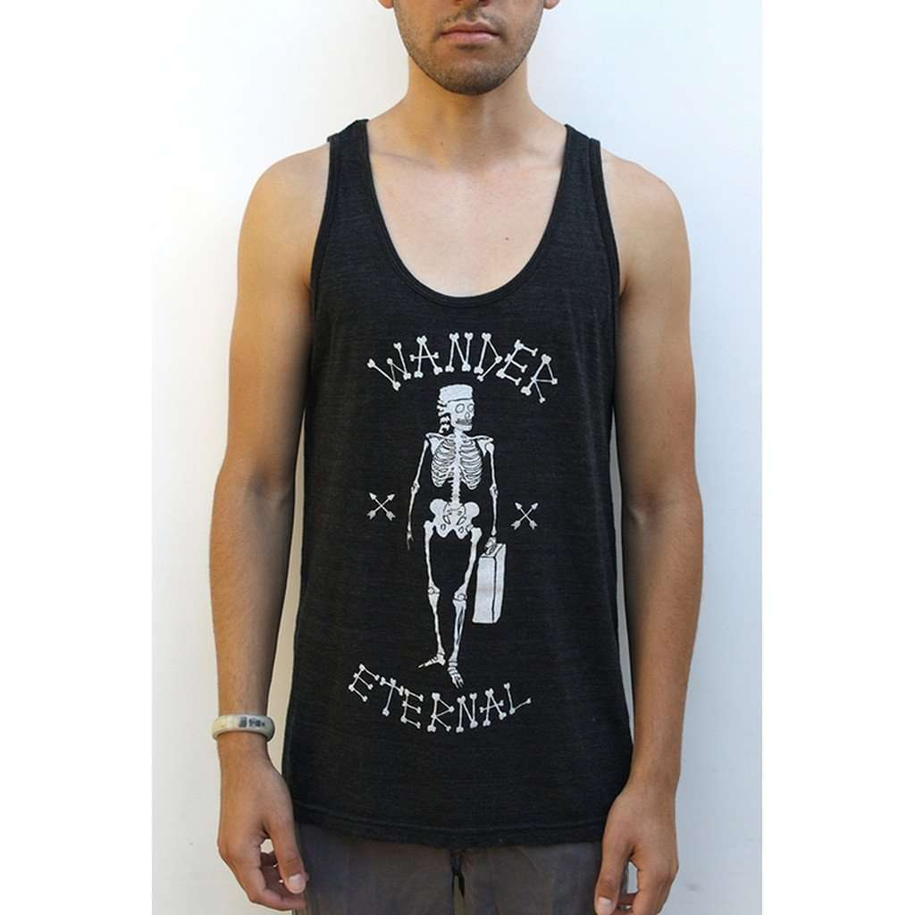 After Party Tank (Black) CoolHatcher at TheArtOfLiving.Earth