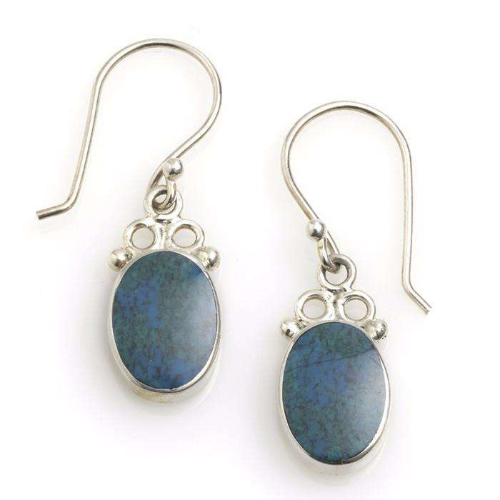 Andean River Drop Earrings CoolHatcher at TheArtOfLiving.Earth