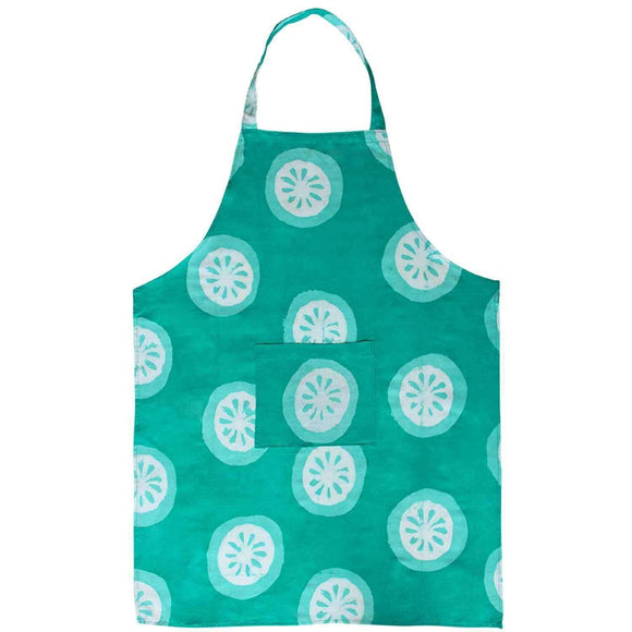 Apron - Shamrock Citrus CoolHatcher at TheArtOfLiving.Earth