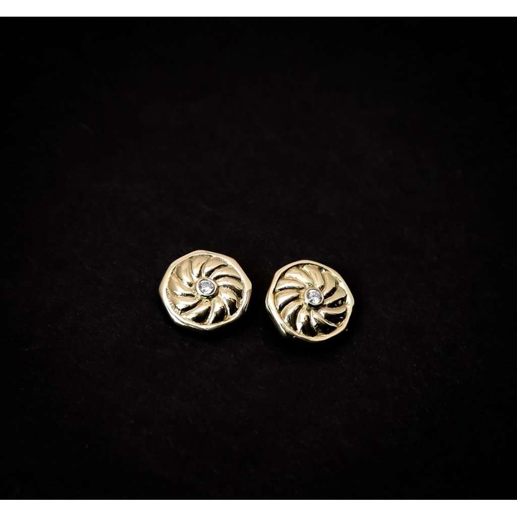Aries stud earrings CoolHatcher at TheArtOfLiving.Earth