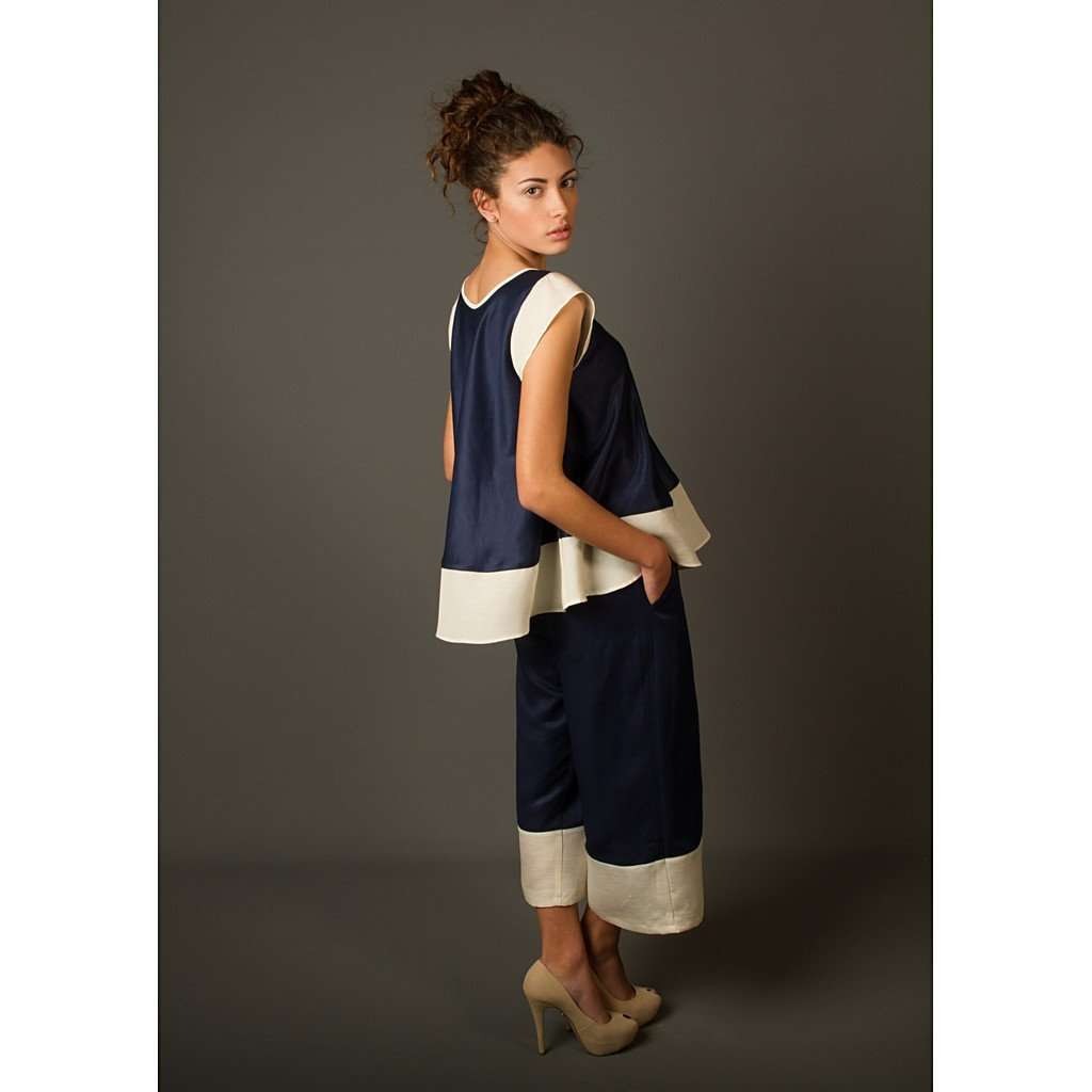 ASTER CROPPED PANTS CoolHatcher at TheArtOfLiving.Earth