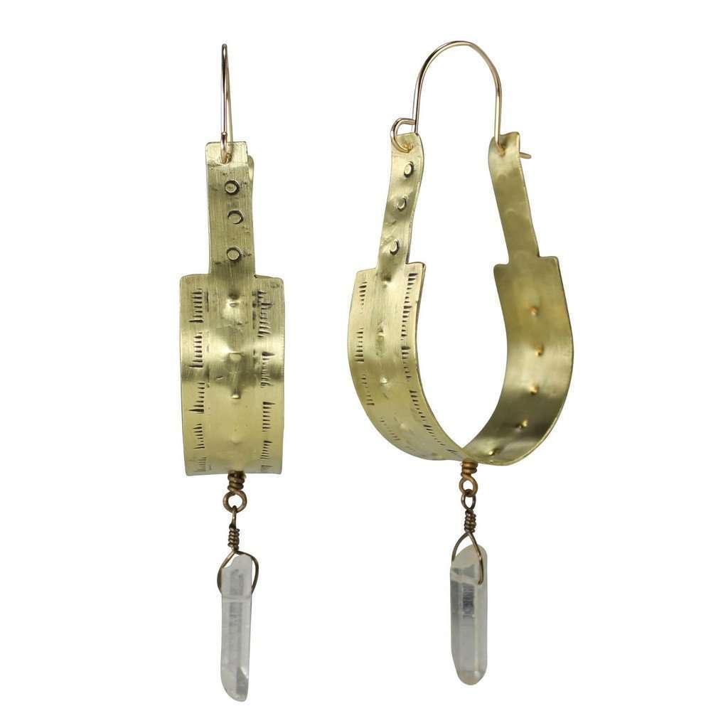 Atoka Earrings CoolHatcher at TheArtOfLiving.Earth