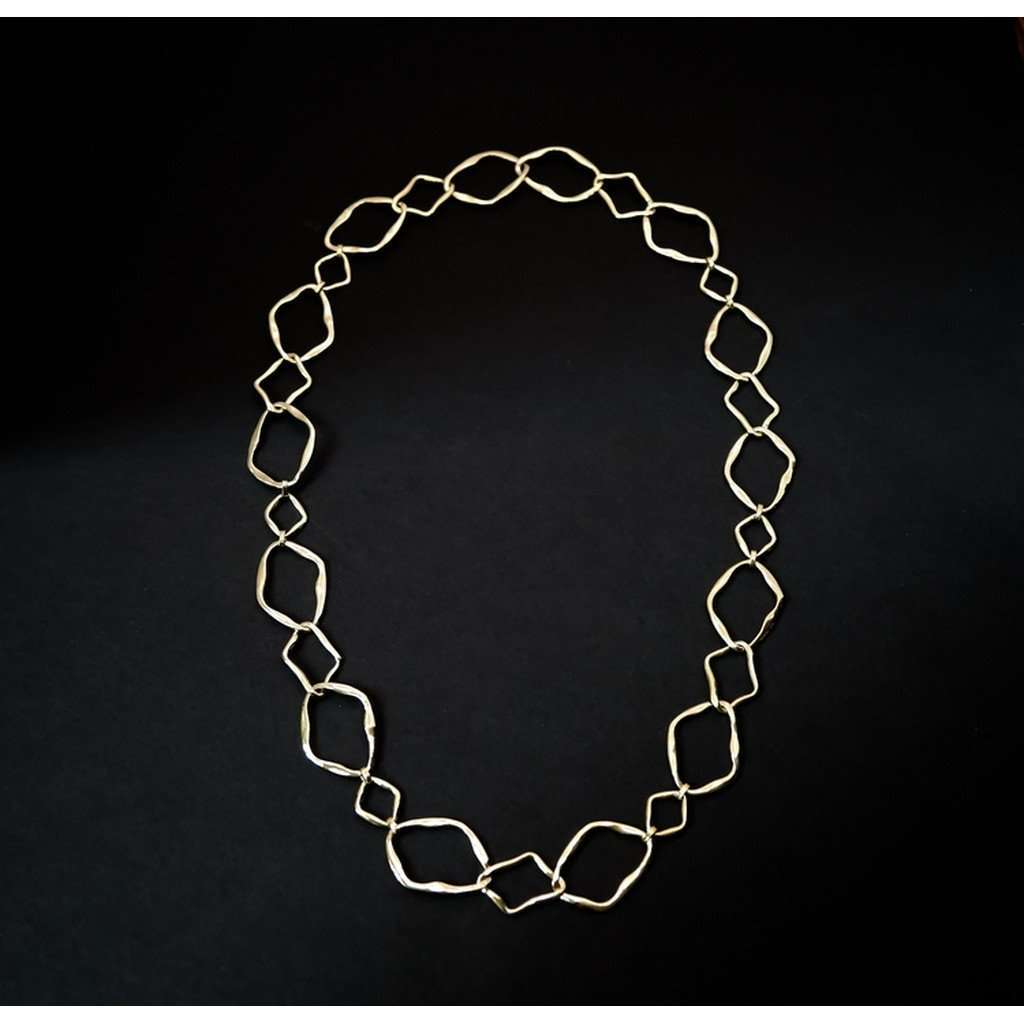 Atypic chain  necklace CoolHatcher at TheArtOfLiving.Earth