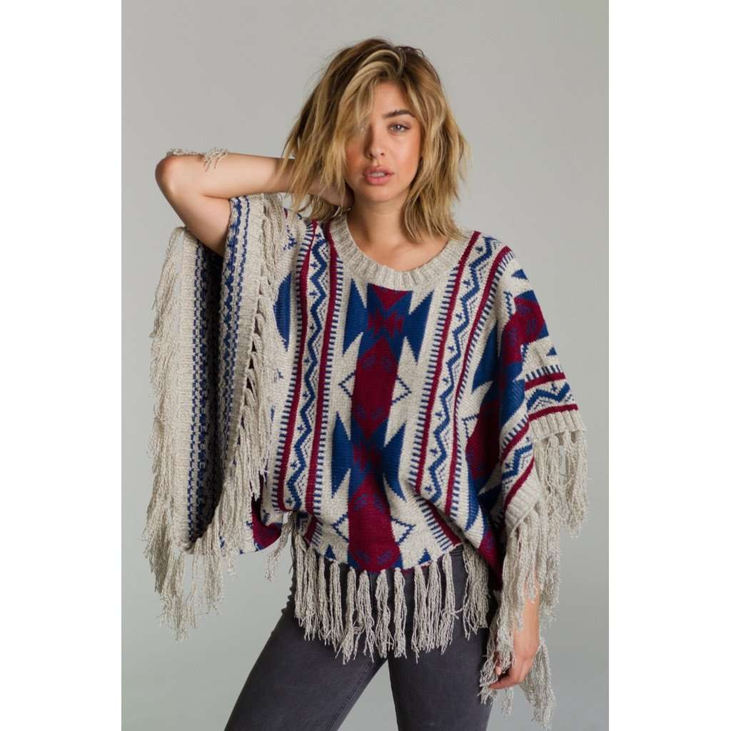 AZTEC DREAMS PONCHO CoolHatcher at TheArtOfLiving.Earth