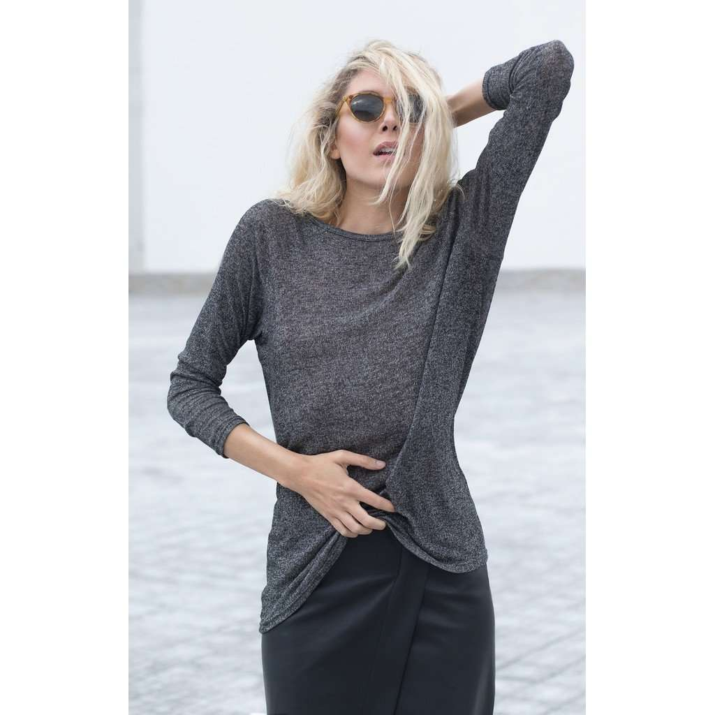 Bareback long sleeve top CoolHatcher at TheArtOfLiving.Earth